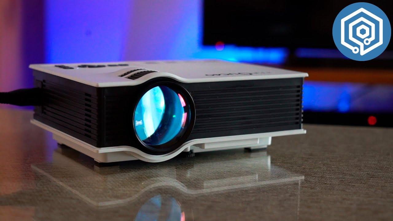 Mini proyector nut uc40 ll vate el cine al sal n de casa - Proyector cine en casa ...