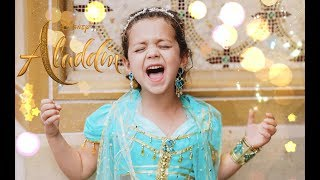Gambar cover SPEECHLESS (Disney's Aladdin) - 6 year old Sophie Fatu