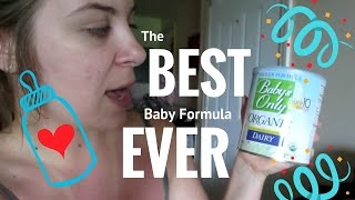 The BEST Baby Formula Hands Down ((ALL ORGANIC)) || Daily Vlog || Aug 2 2016
