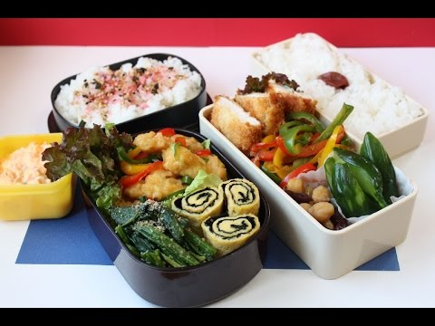 Japanese Bento Lunch Box   お弁当 鶏胸肉編