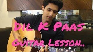 Dil Ke Paas Guitar Lesson | Armaan Malik , Tulsi Kumar | Easy Beginner Lesson