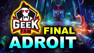 GEEK FAM vs ADROIT - GRAND FINAL SEA - WeSave! Charity Play DOTA 2