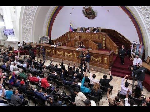 Asamblea Nacional Constituyente, sesión completa, 31 octubre de 2017
