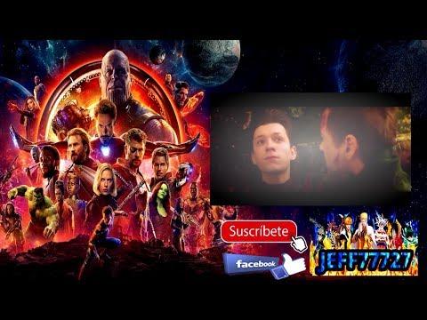Avengers Infinity War Reacción de Audiencia AUDIENCE REACTION RESUBIDO