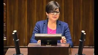 Izabela Leszczyna  - wystąpienie z 11 czerwca 2015 r.