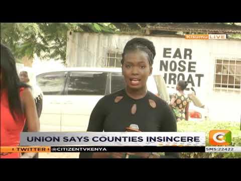 Nurse's strike day 2 in Kisumu Mp3