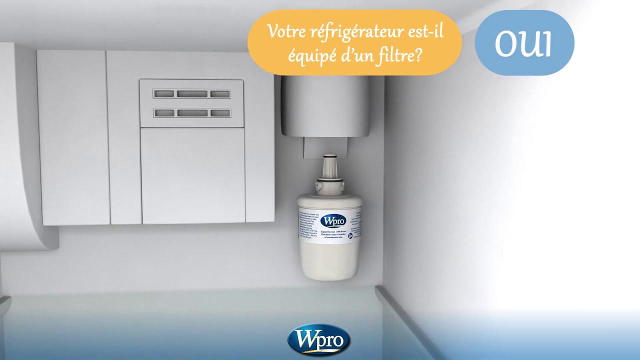 filtres eau wpro pour r frig rateur am ricain youtube