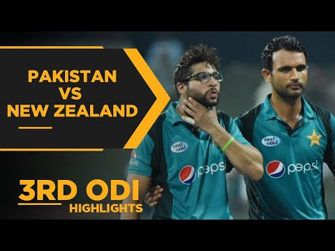 Pakistan vs New Zealand | 3rd ODI Highlights | PCB | MA2E