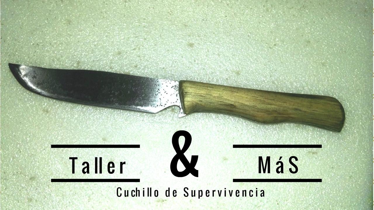 Como hacer un cuchillo de supervivencia casero youtube for Como pulir un cuchillo