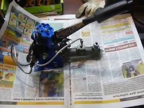 Смотреть ОКА (ЗДТ  вакуумник Калина) - установка гидроручника