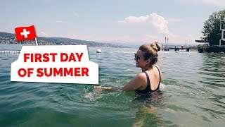 Gambar cover Summer in Switzerland | Living in Zurich Vlog (day in the life)
