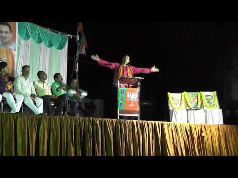 "Speech of Sri Anantkumar Hegde, Hon'ble Union MoS-SD&E  during ""Mangaluru chalo"" in Kumata"