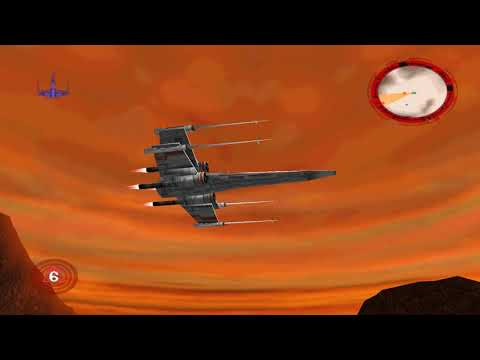 Rogue Squadron 3D - Prisons of Kessel 7:08 X-Wing (WR)