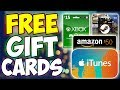How To Get FREE Gift Cards! - WORKING 2018!! (FREE Xbox Live, iTunes, Amazon, Steam & MORE!!)