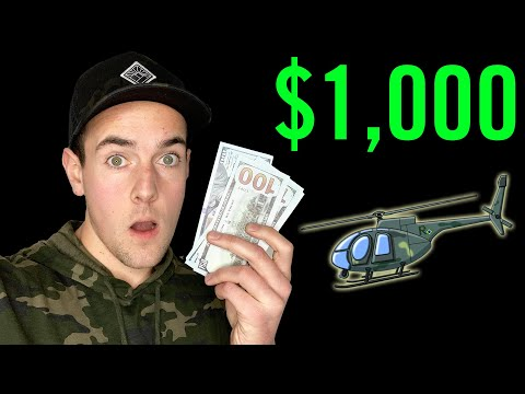 Is Everyone Getting $1,000 From The US Government? (Helicopter Cash Bailout)