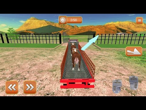 Farm Animal Transport Truck (by Whiplash Mediaworks) Android Gameplay [HD]