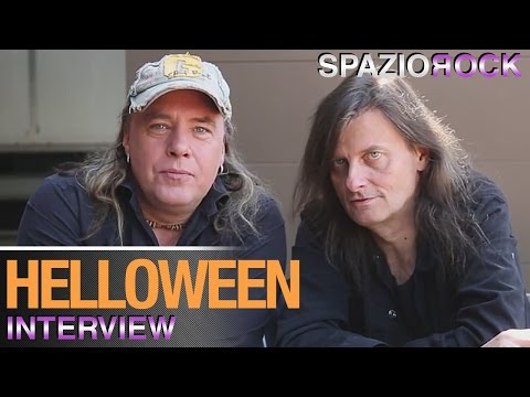 Helloween - Interview with Andi Deris and Michael Weikath
