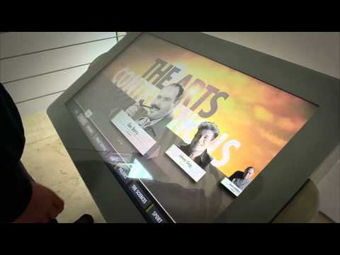 South African Jewish Museum - Touchscreen kiosk