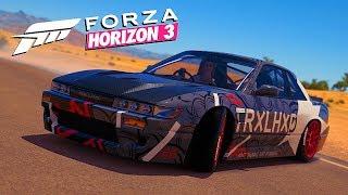 """ТОП Слива для дрифта - """"король"""" дрифта вернулся:D Forza Horizon 3"""