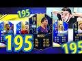 195 NO DRAFT COM MESSI 99?!! ABSURDO DEMAIS!!! FIFA 19