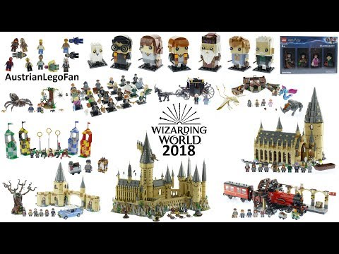 Lego Wizarding World 2018 Compilation Of All Sets
