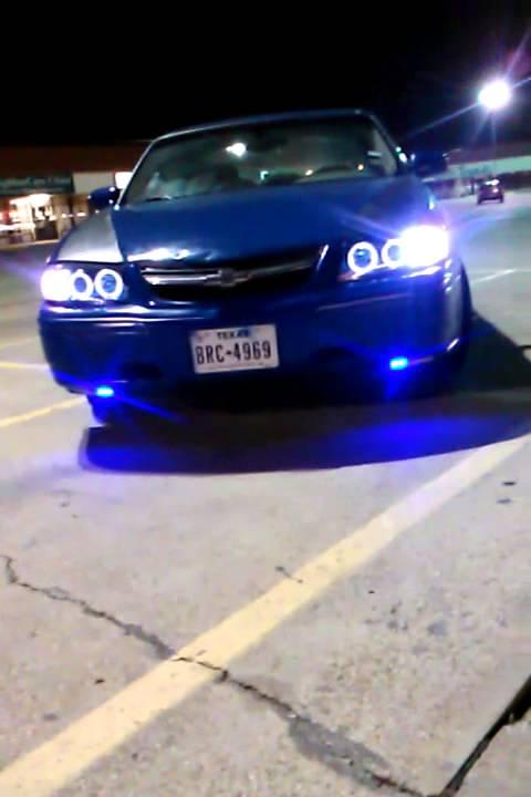 2004 Chevy Impala Blue Led W Halo Projector