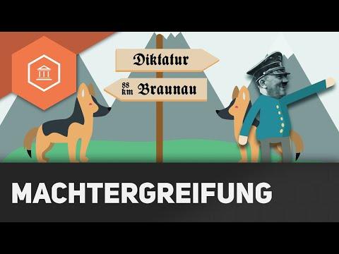 Machtergreifung, Machtübernahme, Machtübergabe - Adolf Hitler wird Reichskanzler - Diktatur des NS 3