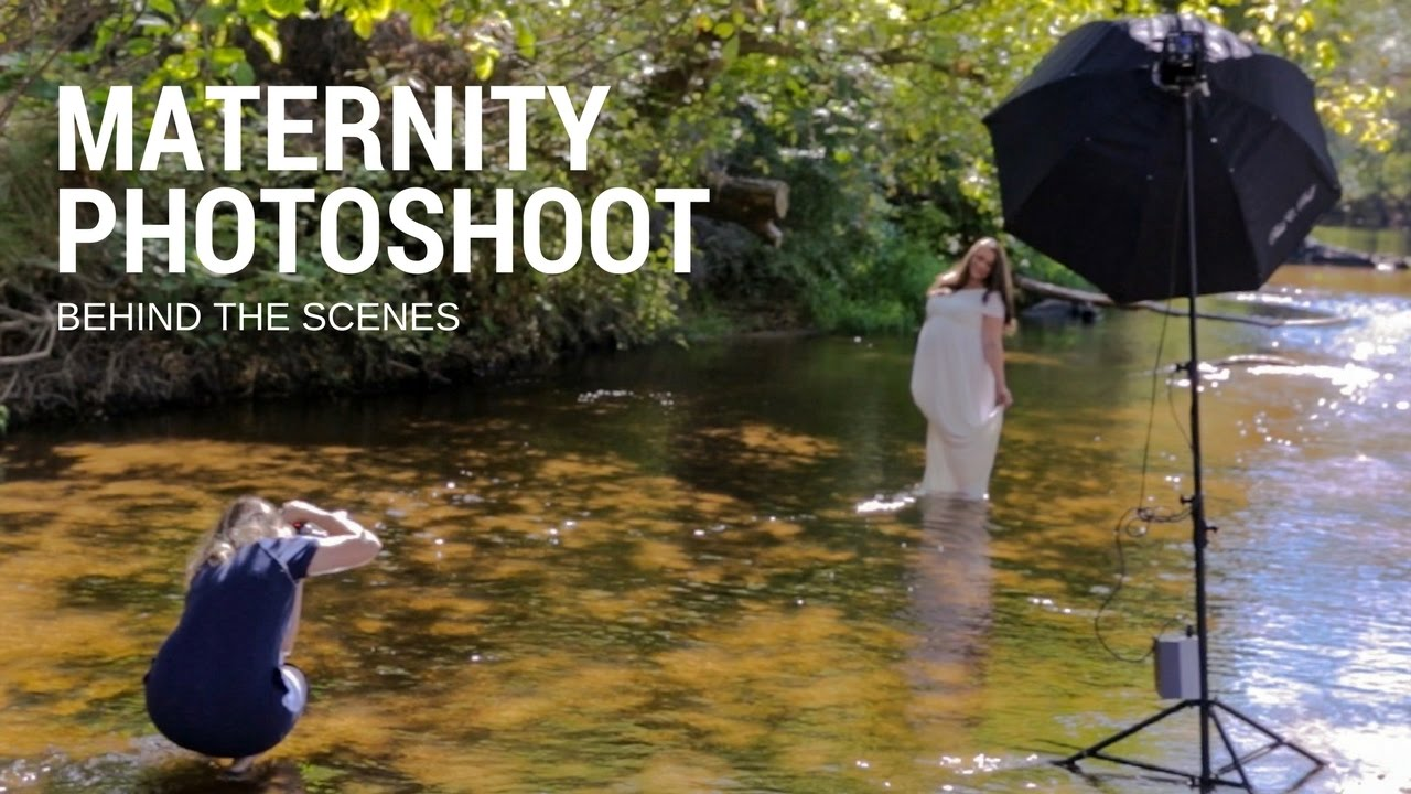 MATERNITY PHOTOSHOOT Outdoors At The River Pregnancy Photography