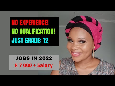 No Job Experience that Pays Well in South Africa 2021