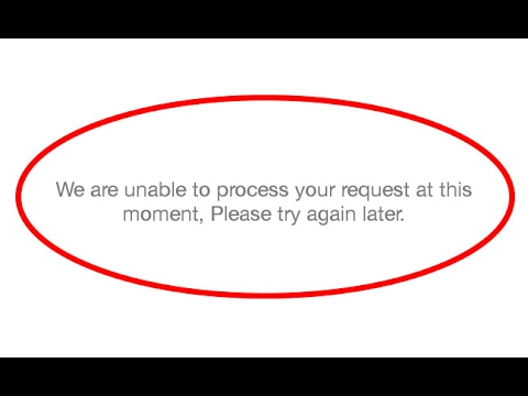 Fix We are unable to process your request at this moment Error in Jio-Android|Tablet