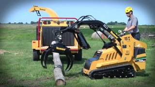 S725TX with Log Grapple Mini Skid Steer | Vermeer Tree Care Equipment