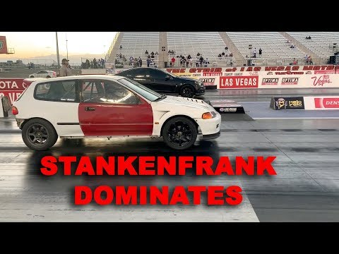 """WHAT DOES A """"STOCK"""" OEM K20 DO ON THE QUARTER MILE??"""