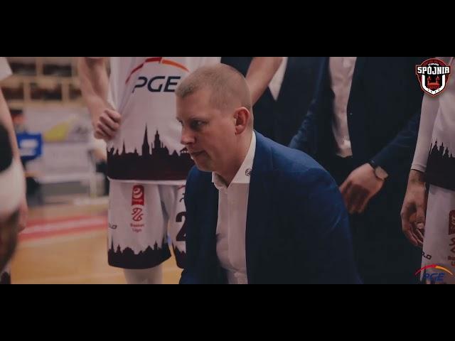 Skrót meczu PGE Spójnia Stargard – Zastal Enea BC Zielona Góra 82:77