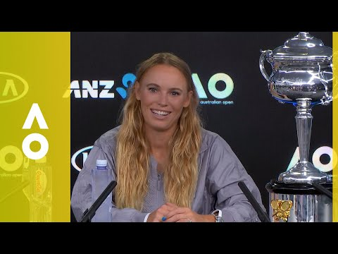 Caroline Wozniacki press conference (F) | Australian Open 2018