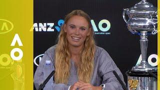 Caroline Wozniacki press conference (F) | Australian Open 2018