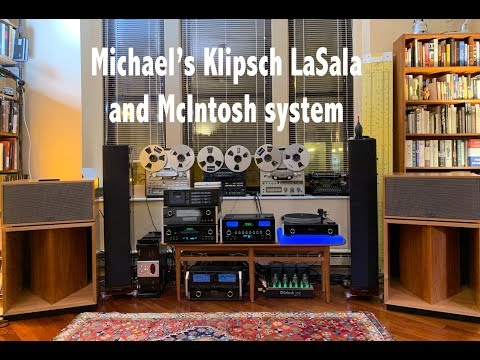 Meet Michael and his Klipsch La Scala and McIntosh system
