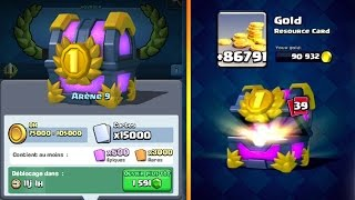 clash Royale / OPENING of 15,000 cards / legendary 10 / trunk of tournament to 250,000 gems #2