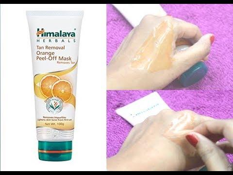 Himalaya Herbals Tan Removal Orange Peel Off Mask Review | Beauty Express