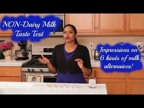 Taste Test NON-Dairy Milk