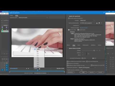 Cómo exportar para DVD en Adobe Premiere Pro CC 2017