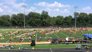 "Bluecoats 2014 ""Tilt"" Runthrough - 07/21/2014 - Dallas, TX"