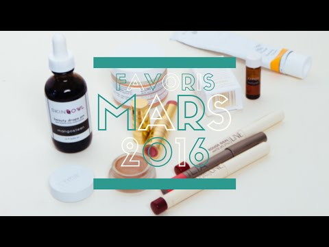 Favoris Beauté Bio - Mars 2016