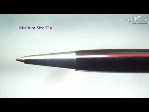 Sainar Brown Color – Stamp Seal on cap Twist type Ball Pen Model: 12164