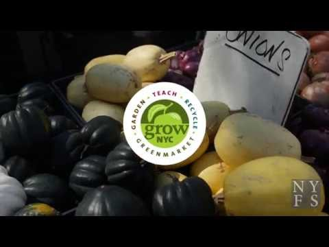 GrowNYC Farmers Market on New York for Seniors TV