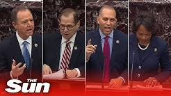 Day three highlights as impeachment trial against US President Trump continues in Senate