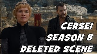 Game of Thrones 8: Cersei Marriage, Death & Pregnancy Theories & Predictions, Season 7 Deleted Scene
