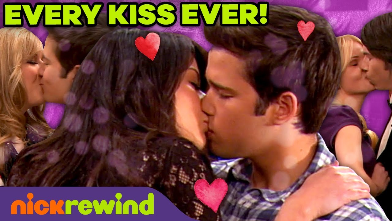 Download Every KISS Ever on iCarly 💋 NickRewind