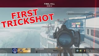 MY FIRST INFINITE WARFARE TRICKSHOT!!