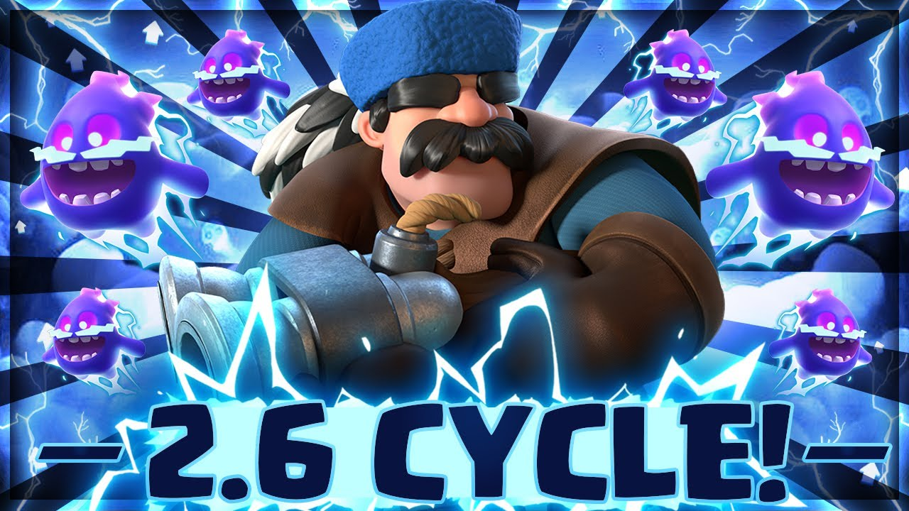 NEW META!! #1 HOTTEST CYCLE DECK IN CLASH ROYALE AFTER UPDATE!!
