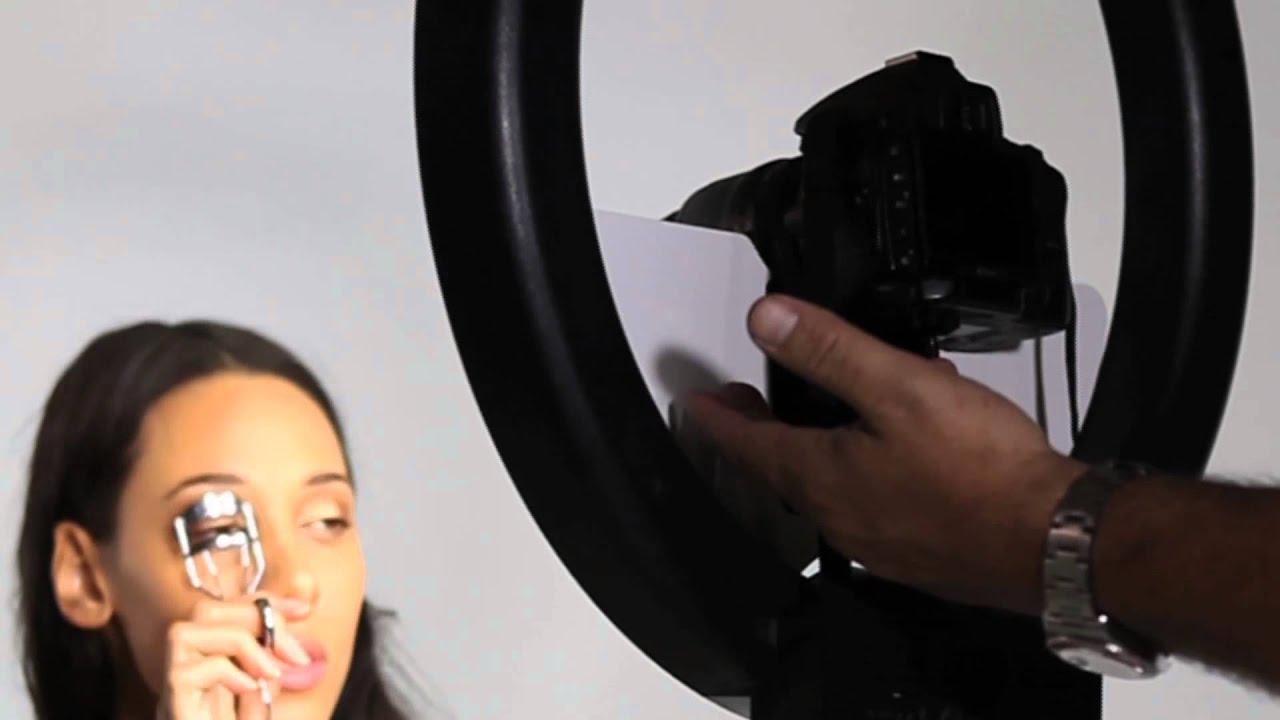 sc 1 st  YouTube & Stellar a 18 inch Rng Light Modeling Mirror - YouTube azcodes.com